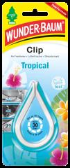 WUNDER-BAUM Clip osvěžovač tropical