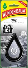 WUNDER-BAUM Clip osvěžovač black ice