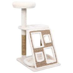 shumee tengerifű macskabútor luxuspárnákkal és kaparófával 89 cm