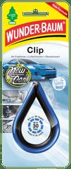 WUNDER-BAUM Clip osvěžovač new car