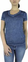 Emporio Armani Dámské triko Emporio Armani, žíhané - XS