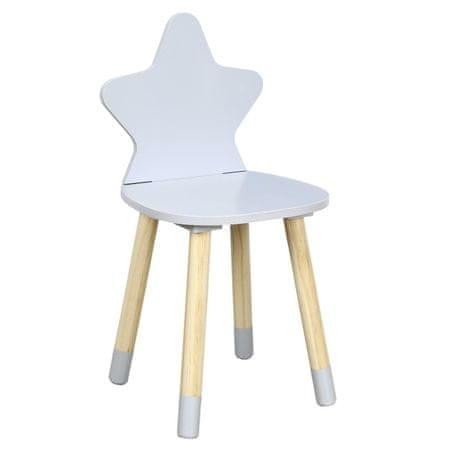 shumee Krzesło dziecięce Puppe szare
