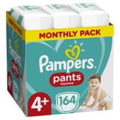 Pampers plenice Pants Maxi+ vel. 4+ (164 kosov) - plenice (9-15 kg) - Mesečni paket