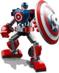 LEGO Super Heroes 76168 Captain America egy páncélozott robotban