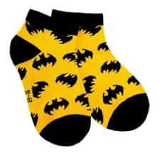 """Eplusm Chlapčenské členkové ponožky """"Batman"""" - žltá"""