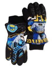 """SETINO Chlapčenské lyžiarske rukavice """"Batman"""" - čierné"""