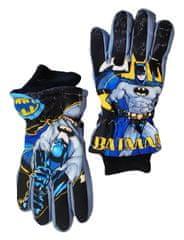 "SETINO Chlapčenské lyžiarske rukavice ""Batman"" - sivé"