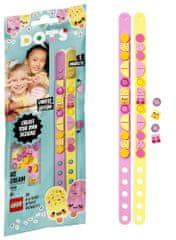 LEGO® DOTS 41910 Fagylaltos barátság karkötők