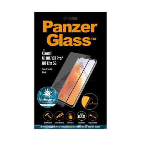 PanzerGlass zaščitno steklo za Xiaomi Mi 10T/MI 10T PRO, črno