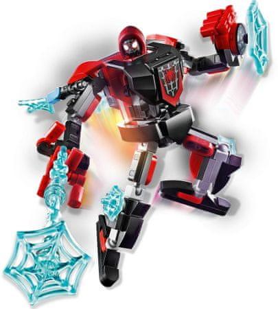 LEGO Super Heroes 76171 Miles Morales páncélozott robot