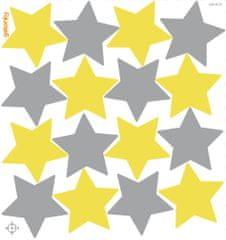 GEKONKY BARVY ROKU 2021, speciální kolekce - hvězdy