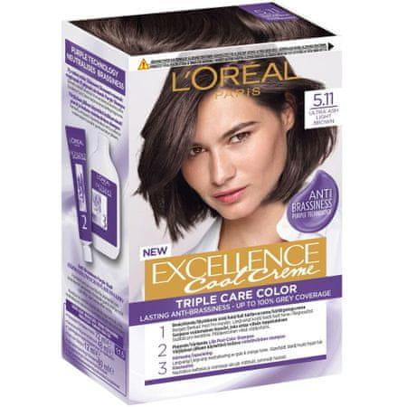Loreal Paris Excellence boja za kosu, Ultra Ash Light Brown 5.11