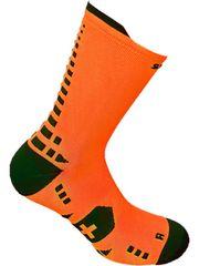 Spring Čarape Revolution Soft Air Plus, duge, narančasto-crne, 39-44