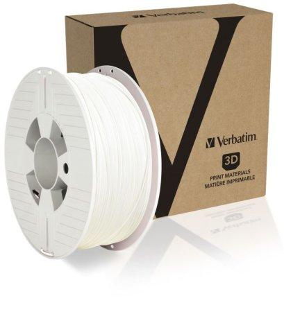 Verbatim nyomtatószál, ABS, 1,75 mm, 1 kg, fehér (55027)