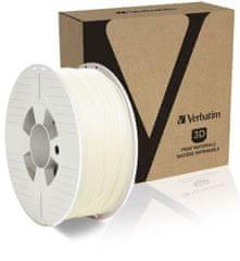Verbatim nyomtatószál, ABS, 1,75 mm, 1 kg, natural (55028)