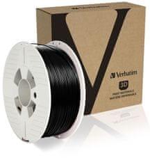 Verbatim nyomtatószál, ABS, 1,75 mm, 1 kg, fekete (55026)