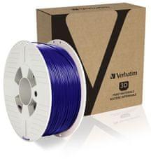 Verbatim nyomtatószál, ABS, 1,75 mm, 1 kg, kék (55029)