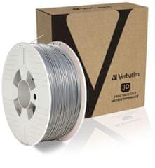 Verbatim nyomtatószál, ABS, 1,75 mm, 1 kg, szürke (55032)
