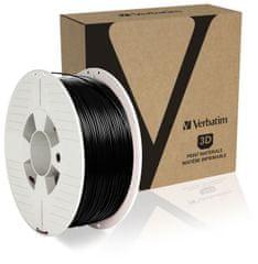 Verbatim nyomtatószál, PLA, 1,75 mm, 1 kg, fekete (55318)