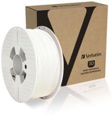 Verbatim nyomtatószál, PLA, 1,75 mm, 1 kg, fehér (55315)