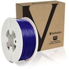 Verbatim nyomtatószál, PLA, 1,75 mm, 1 kg, kék (55322)