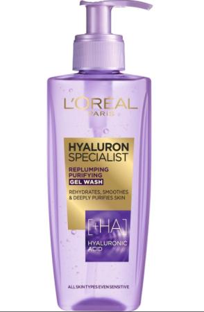 Loreal Paris Hyaluron Specialist čistilni gel, 200 ml