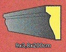 Indecor Lišta okolo okna - šambrána KA-15