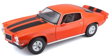 Maisto Chevroelt 1971 Camaro Z/28 - narancssárga
