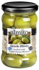 Almito Grécke olivy plnené syrovým krémom 270g (bal. 6ks)