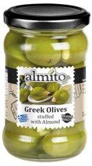 Almito Grécke olivy plnené mandľou 270g (bal. 6ks)