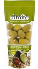 Almito Grécke olivy v slanom náleve 250g (bal. 10ks)
