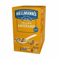HELLMANN'S Horčica plnotučná 10ml (bal. 198ks)