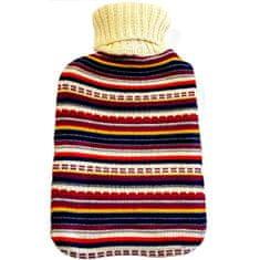Albert Thermofor csíkos pulóverben
