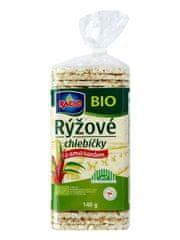 RACIO Chlebík BIO ryžový s amarantom 140g (bal. 12ks)