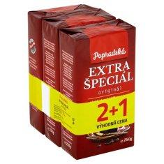 Popradská Káva Extra Špecial 3x250g 750g