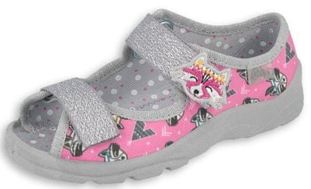 Befado sandale za djevojčice Max 969X162, 25, roza