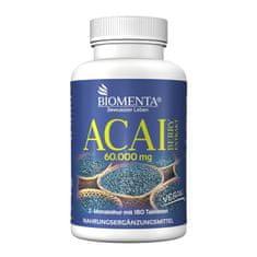 Biomenta Acai jagode ekstrat 60.000 mg 180 Tablet