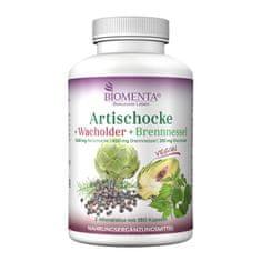 Biomenta Artičoka + brin + kopriva 180 kapsul / vegan