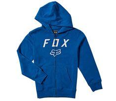 FOX detska mikina Youth Legacy Moth Zip Fleece royal blue