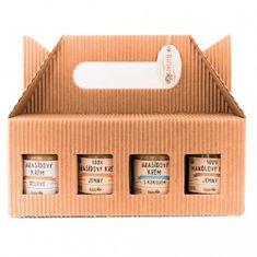 Božské oříšky Dárkové balení mix ořechových krémů 8x 60 g