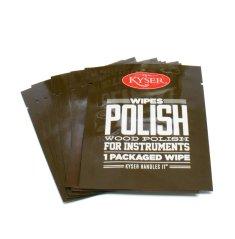 Kyser POLISH WIPES 10 ks - čistící ubrousky na nástroje