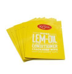 Kyser LEM-OIL WIPES 10 ks - čistící ubrousky na hmatník