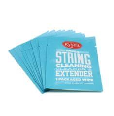 Kyser STRING CLEANING WIPES 10ks - čistící ubrousky na struny