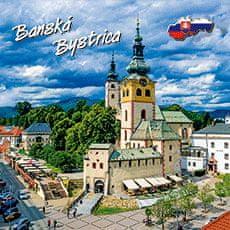 tvorme 3D magnetka Banská Bystrica 3DMBB001 - Barbakan
