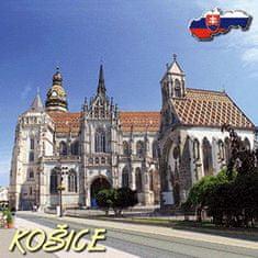 tvorme 3D magnetka Košice 3DMKE001 - katedrála sv. Alžbety