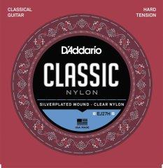 Daddario D'ADDARIO EJ27H Hard Tension - Nylonové struny na klasickou kytaru