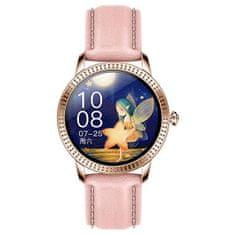Deveroux Smartwatch CF18 Pro - růžová
