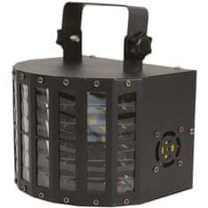 QTX DERBY9 LED paprskový efekt, 9x 3W LED, DMX