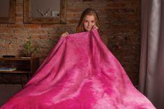 Povlečeme vše Deka mikro Růžová rozmer 150x200 cm