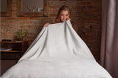 Povlečeme vše Deka mikro svetlo šedá rozmer 150x200 cm